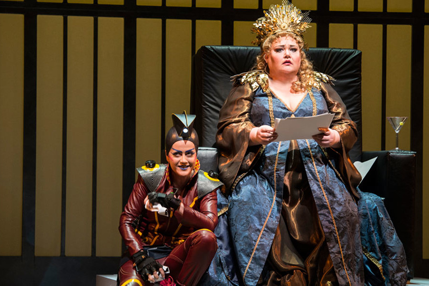 Amanda Forsythe – Iris, Semele – Seattle Opera – Photo by Elise Bakkentun