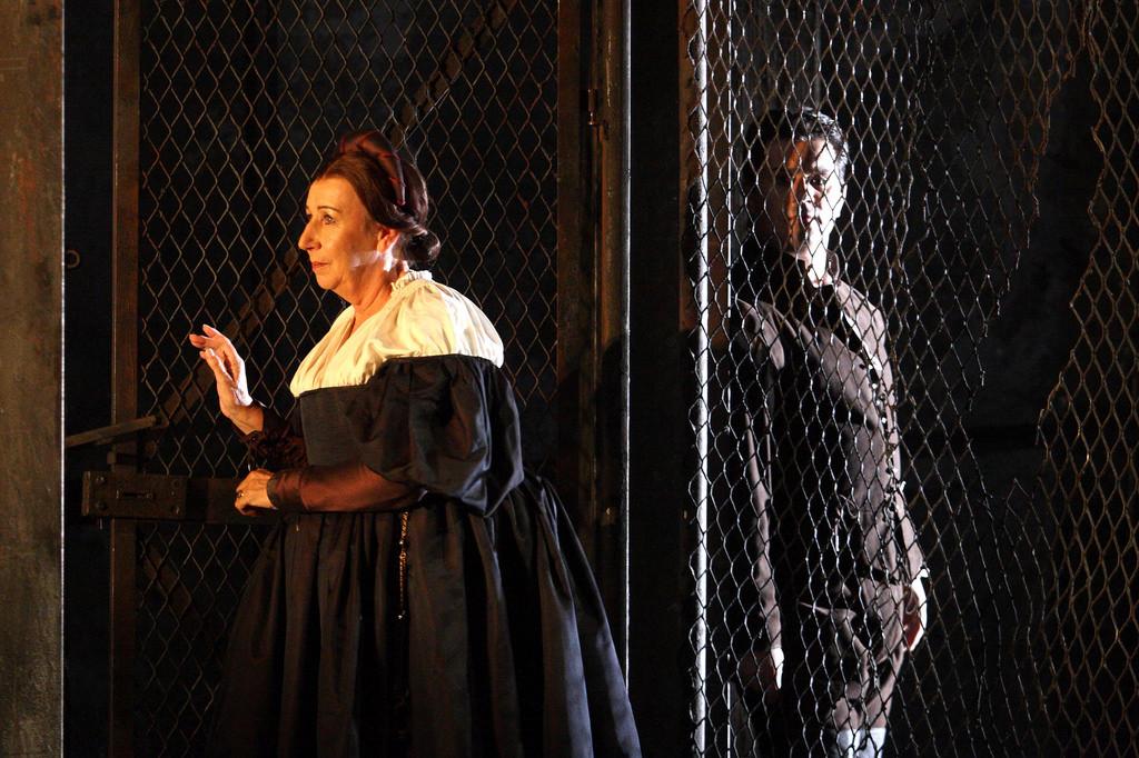 Elizabeth Sikora – Giovanna, Rigoletto – The Royal Opera House
