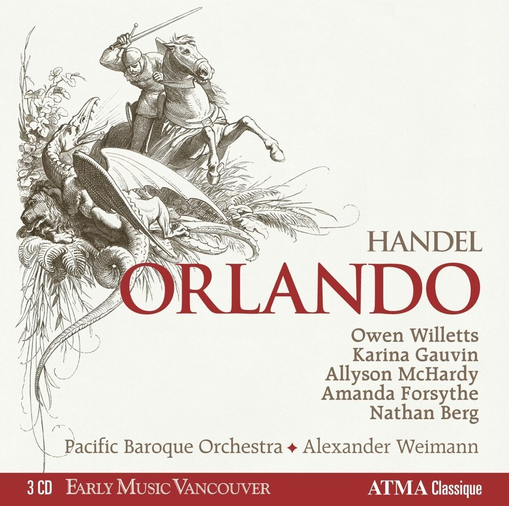Amanda Forsythe – Handel: Orlando