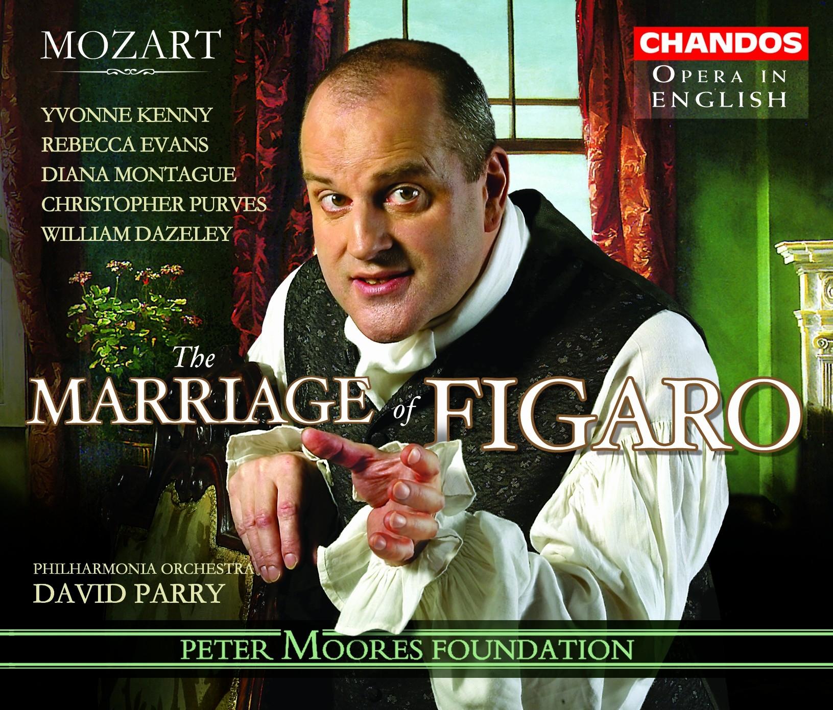 Jonathan Veira – Le nozze di Figaro recording (Chandos)