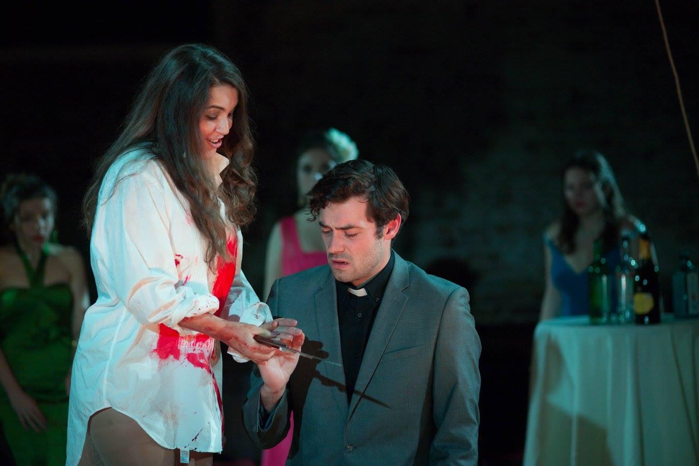 Simon Grange – Lucia di Lammermoor, Fulham Opera – Photo by Matthew Coughlan