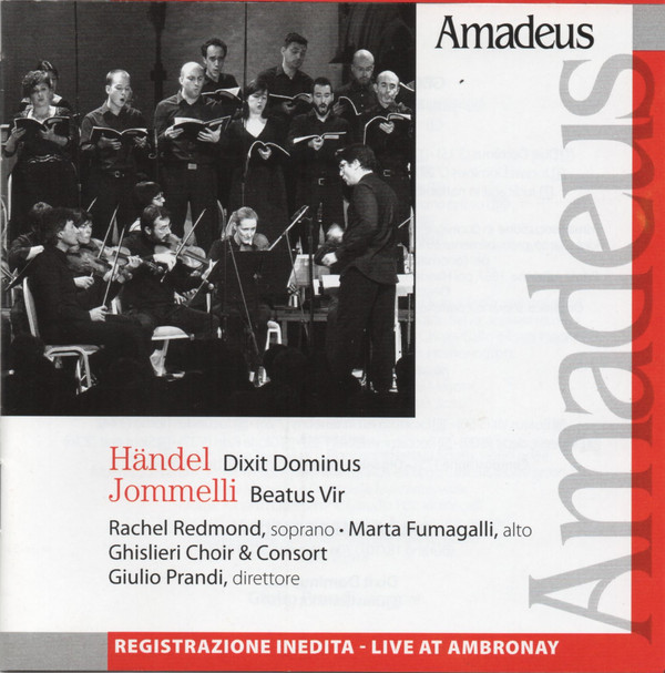 Rachel Redmond – Händel & Jommelli by Amadeus