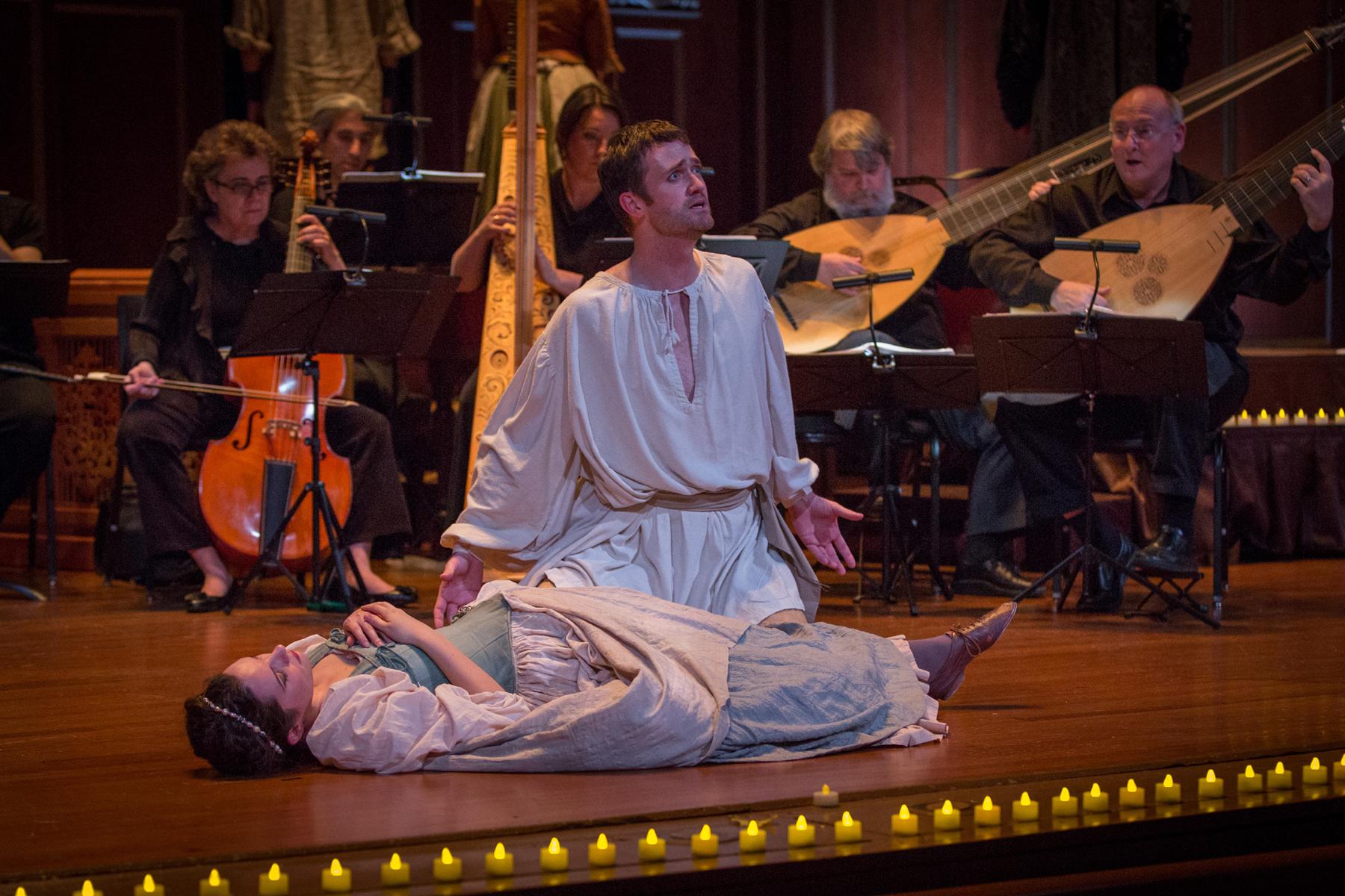 Aaron Sheehan – Orfeo – BEMF Chamber Opera Series – 2012 – Photo by Kathy Wittman