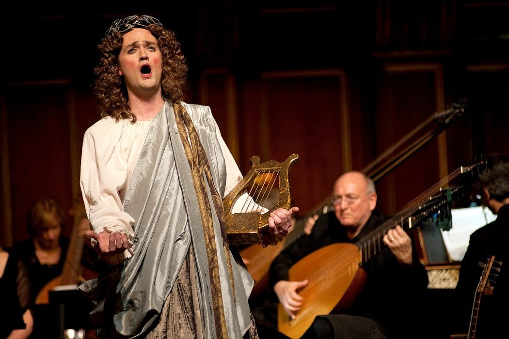 Aaron Sheehan – La Descente d'Orphée aux Enfers – The Boston Early Music Festival – 2011 – Photo by André Costantini