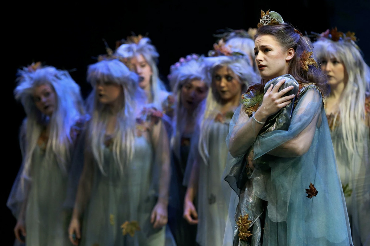 Rosanna Harris – Tytania, A Midsummer Night's Dream – Royal Northern College of Music (2015) – Photo by Victoria Haydn