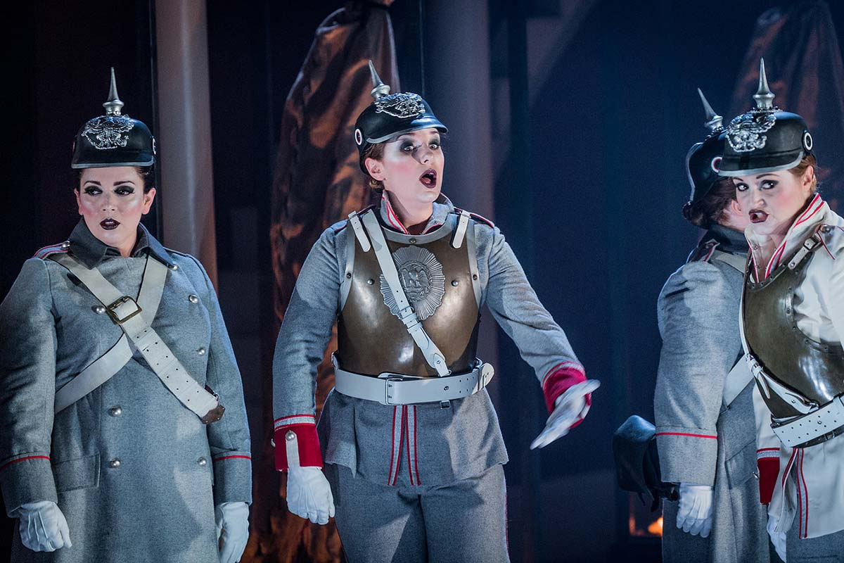 Tanya Hurst – Gerhilde, Die Walkure – Grange Park Opera – 2017 – Photo by Robert Workman