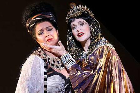 Deborah Humble – Amneris, Aida – Opera Australia – Photo by Jeff Busby