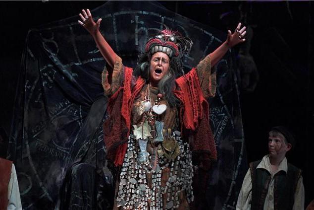 Deborah Humble – Ulrica, Un Ballo in Maschera – State Opera of South Australia