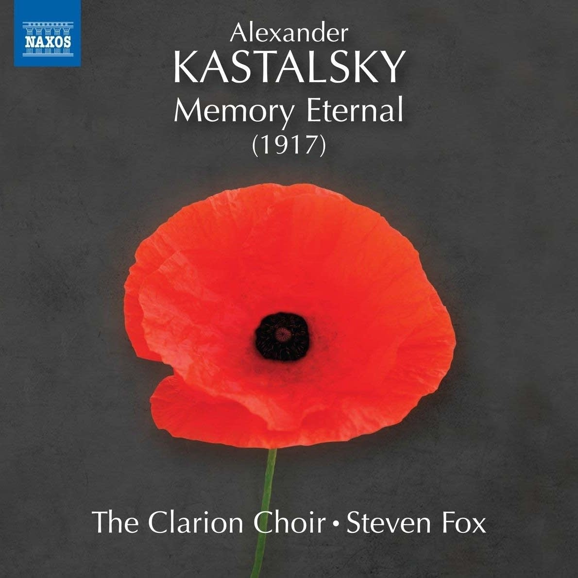 Brian Giebler, Tenor – Kastalsky: Memory Eternal – Naxos Classics, 2018