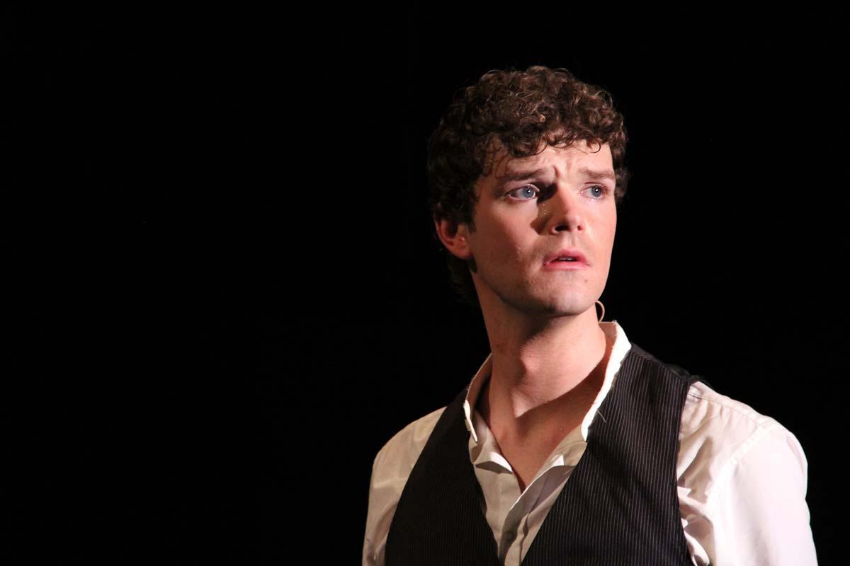 Brian Giebler – Marius in Les Misérables – Balagan Theater, 2013