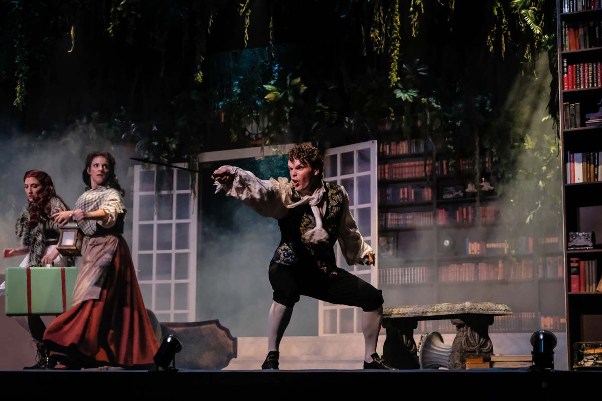 Brian Giebler – Jack in Into the Woods – Charlottesville Opera, 2018