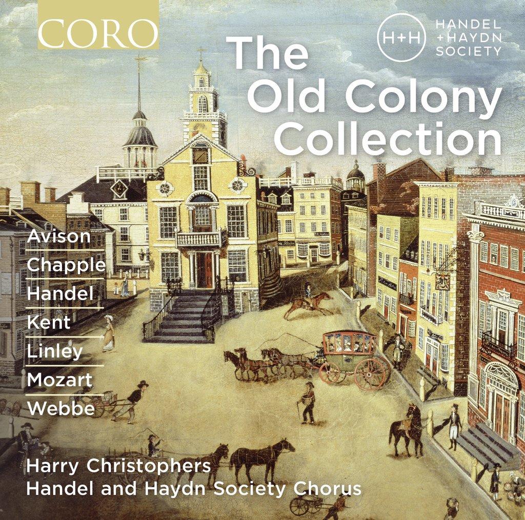 Brian Giebler, Tenor – The Old Colony Collection – Coro, 2016