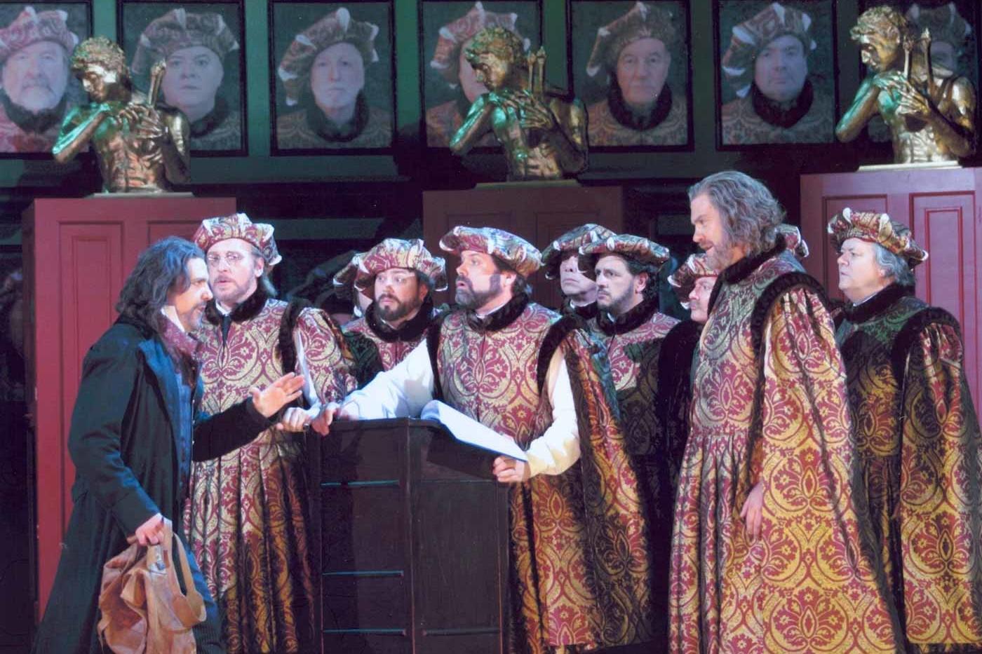 Simon Thorpe, Baritone – Kothner, Die Meistersinger – Welsh National Opera