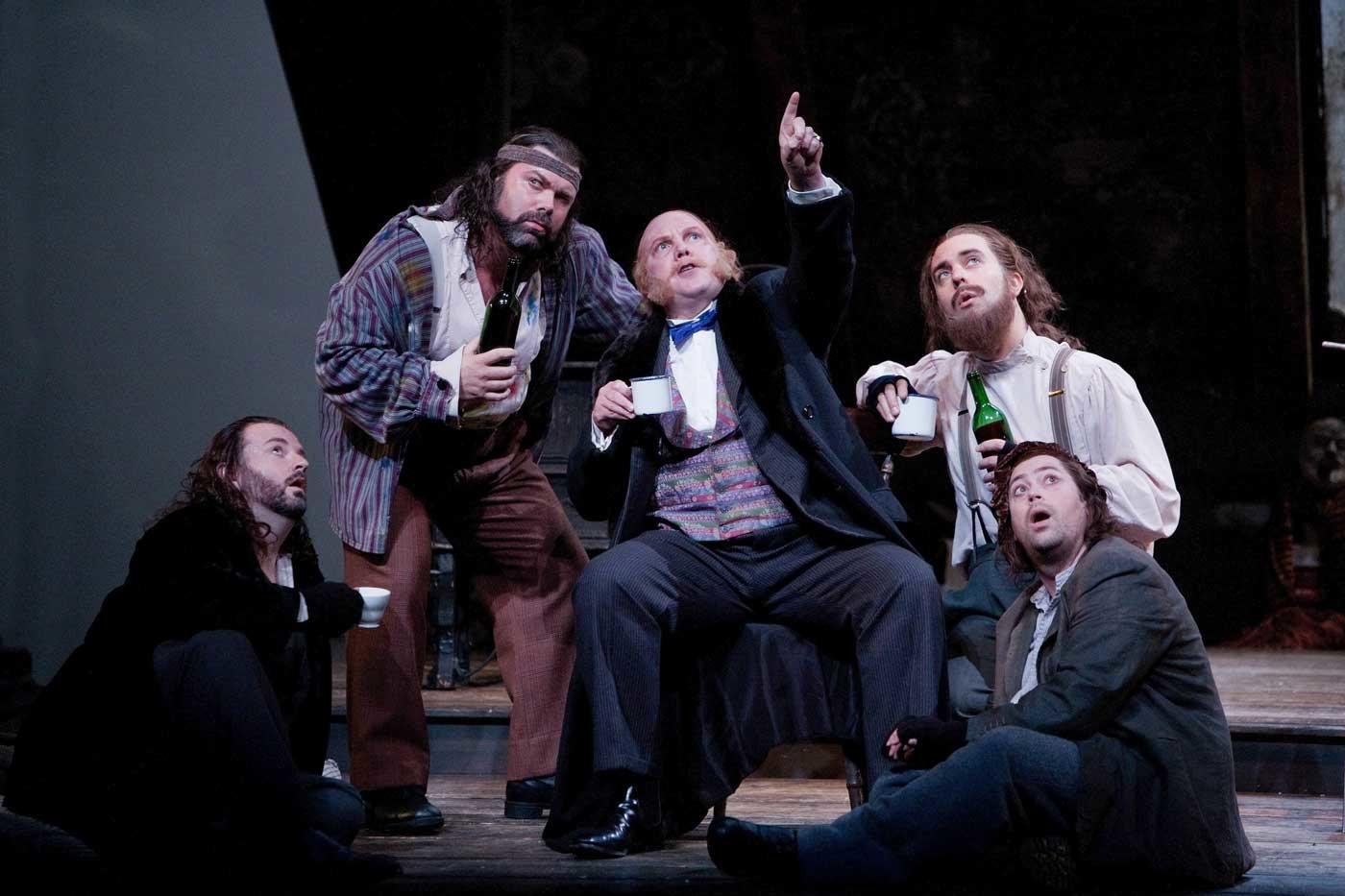 Simon Thorpe, Baritone – La Boheme – Welsh National Opera