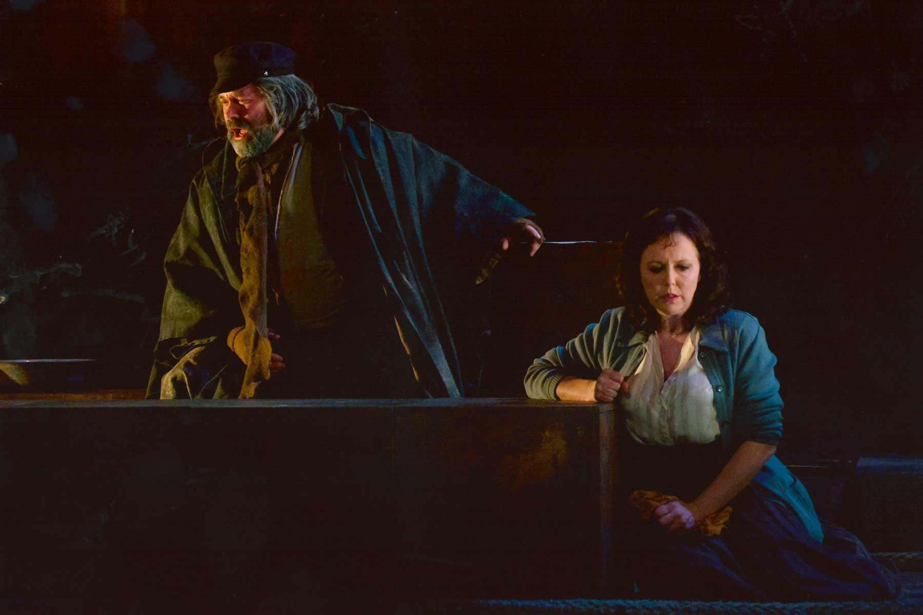 Simon Thorpe, Baritone – Michele, Il Tabarro – English Touring Opera
