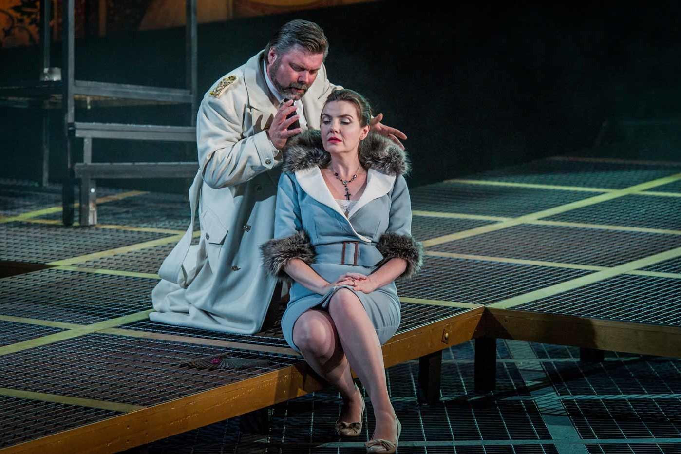 Simon Thorpe, Baritone – Tosca – Longborough Festival Opera